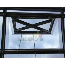 """Katuseaknad, õhuavad Kasvuhoone katuseluuk """"Strele"""""""
